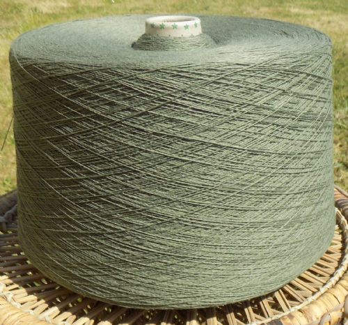 Fusion Knitting Machine Yarn 2/30 2 Kilos Acrylic / Cotton OLIVE IND22.04